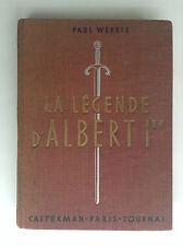 La légende d'Albert 1er Roi des belges  Illustrations par Hergé