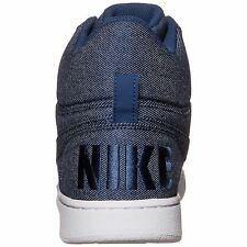 Nike AIR FORCE 1 One Court Borough Mid Prem Coastal Blue shoes Chaussures homme