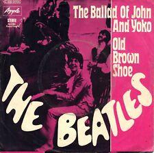 "7"" Beatles – The Ballad of John and Yoko // Germany 1969"