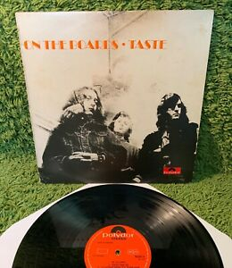 TASTE ON THE BOARDS 1970 •1st UK press• Rory Gallagher heavy blues psych TEXTURE