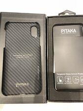 Iphone X Pitaka Magcase ultra think carbon fiber style