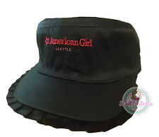 American Girl CL MY AG SEATTLE RUFFLE CAP for Girls Hat Adjustable Accessory NEW