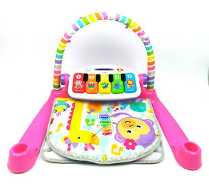 Fisher-Price Deluxe Kick & Play Piano Gym - Pink