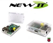 NEW - ModMyPi Clear case for Raspberry Pi Model B with GPIO Cut-Outs and Slots.