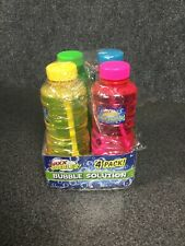 MAXX Bubbles! 4 Pack Bubble Solution 16 Fluid OZ M63E