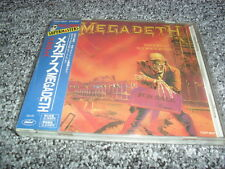 MEGADETH -PEACE SELLS...- AWESOME CLASSIC THRASH METAL JAPANESE PRESS METALLICA