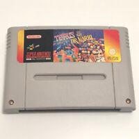 SNES Tetris & Dr Mario Super Nintendo Game  PAL