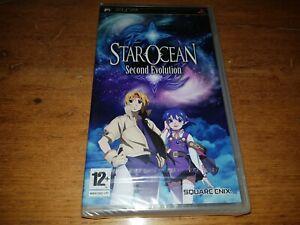 Star Ocean Second Evolution PSP PAL NewSealed