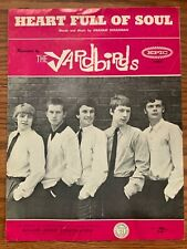 The Yardbirds Heart Full Of Soul 1965 Sheet Music