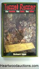 Tunnel Runner by Richard Sand SIGNED FIRST