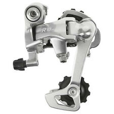 Microshift R10 Long Cage Rear Mech in Silver for Touring Bike 10sp