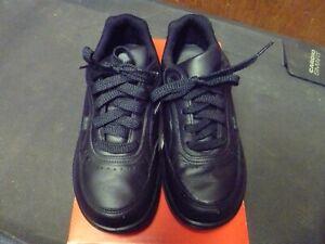 New Balance Postal 706V2 Women Sz 7 D Wide Made USA Black Leather New WK706BK2