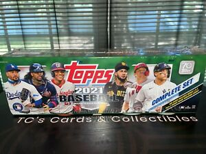 2021 Topps MLB Baseball Complete Set Walmart Exclusive Factory Sealed