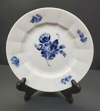 Royal Copenhagen Blue Flowers Ribbed Salad Plate