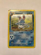 Carte Pokemon Azumarill 2/111 Neo Genesis Wizard - Carte holographique anglaise