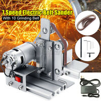 10mm Belt Sander Electric Grinder DIY Polishing Grinding Power Tool  οr
