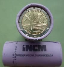 Portugal 2 Euro Rolle 2016 Brücke mit 25x 2 Euro Gedenkmünzen commemorative roll