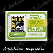 Funko POP - Replacement Sticker - 2018 SDCC First to Market 1300pc - 13th Doctor