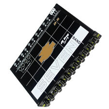 12V 200W 7 Band Sound Audio Equalizer Pre-parametric Subwoofer Tuning Crossover