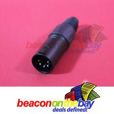 5 Pin XLR Male Jack Connector Plug DMX-512