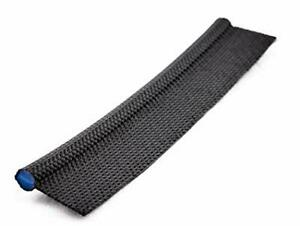 Awning Piping 6mm Double Flap + Solid PVC Core Keder BLACK per metre Free P&P