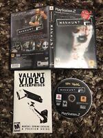 PS2 Playstation 2 Manhunt CIB Complete