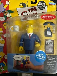 Playmates Toys The Simpsons Super-Intendent Chalmers Series Action Figure