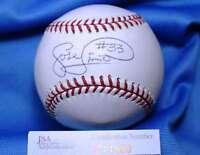 Jose Lima D.2010 Jsa Coa Hand Signed Major League Autograph Baseball