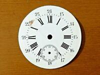 Esfera reloj de bolsillo esmalte 43mm pocket watch dial cod 09