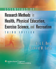 Essentials of Research Methods in Health, Physical Education, Exercise Science,…