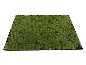 Matin Welberg Static Grass 4mm Tufts Spring WBP401 Scale Model Railroad Scenery