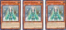 3 x Magical Exemplar  SR08-EN011 Common 1st Ed  YUGIOH Cards