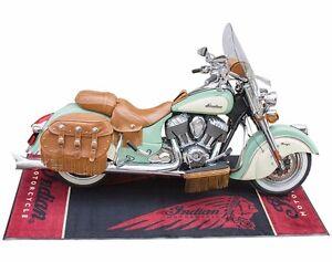"""GENUINE INDIAN MOTORCYCLES LOGO BIKE MAT 2863879 104"""" X 52.5"""""""