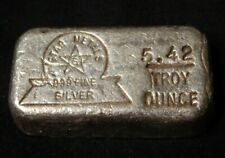 ***RARE*** VINTAGE 5.42 OZ STAR METALS POURED .999 SILVER BAR