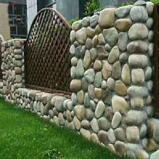 Stepping Stones Mold Cobblestone Pebbles Rock Brick Concrete Mould Decor Tool
