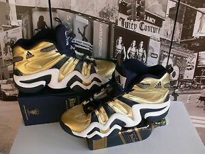 2010 Adidas  Gold / Navy Notre Dame Crazy 8 Limited Edition US 14.5 / UK 14 / EU