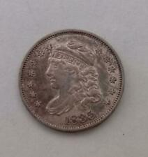 More details for usa 1835 half dime capped bust silver coin excellent condition