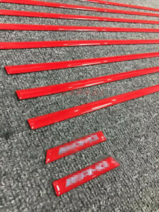 For Mercedes Benz G class W463 G500 G63 AMG style Inserts Moulding Trim Red