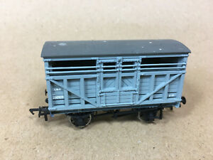BACHMANN MODEL RAILWAYS 00 GAUGE LMS GREY CATTLE TRUCK 230909 6-10 12 TONS GOOD
