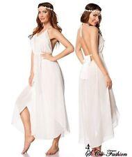 Markenlose bodenlange Damenkleider ohne Muster für die Freizeit
