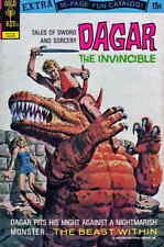 Dagar the Invincible (Tales of Sword and Sorcery…) #2 FN; Gold Key   save on shi