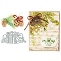 Pineapple Leaves Cutting Die Embossed Stencil Scrapbook Greeting Card DIY Mold