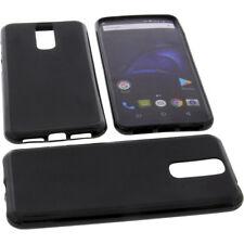 Funda para Cubot X18 Smartphone Funda protectora de móvil TPU GOMA FUNDA NEGRA