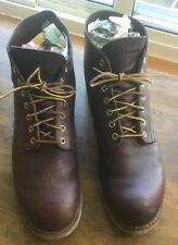 """Red Wing Heritage Men's Size 13 D 8196 6"""" Boot Brown Briar Classic Round Toe"""