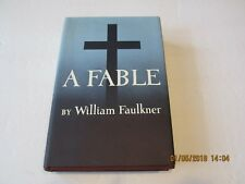 A Fable by William Faulkner 1st/1st 1954 HC/DJ