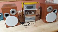 Musikanlage gebraucht Philipps MCM 390/22 mit CC- und CD-Laufwerk und 2 Boxen
