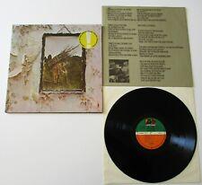 Led Zeppelin - Led Zeppelin IV German Atlantic Reissue LP