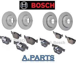 Bosch Kit de Freins Disques Plaquettes Pour avant et Arrière BMW 5 E60 E61