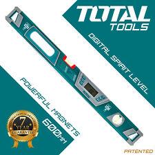 Total Tools - Digital Spirit Level 60cm Magnetic Angle Finder, Protractor
