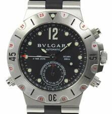 BVLGARI Diagono SD38S GMT date black Dial Automatic Men's Watch_563021
